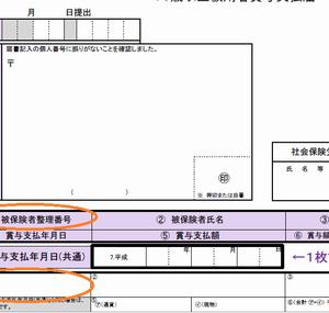 【賞与支払届】届出書の記入ミスは訂正印無し、修正テープでもOKか?