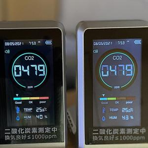 二酸化炭素の測定 その3