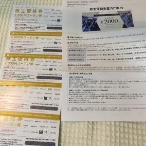【優待到着、生活】バロックジャパンリミテッド、ニット購入、優待券届いています。