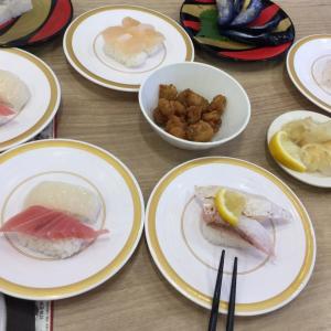 【株主優待利用】10数年ぶりにかっぱ寿司に行きました。