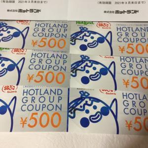 【株主優待到着】ホットランド、銀だこ等で使用出来る優待券が届いています。