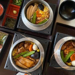 【株主優待利用】ライドオンエクスプレス、釜寅のランチ食べました。