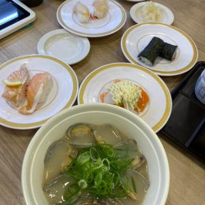 【株主優待利用】かっぱ寿司でいただきました。