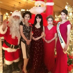 2018年 クリスマスパーティ デヴィ夫人