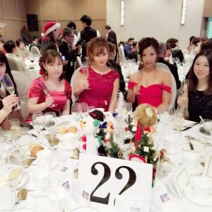 2018年 クリスマスパーティ デヴィ夫人とゲスト様たち