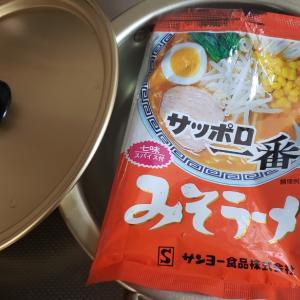サッポロ1番で韓国風納豆チゲにアレンジ