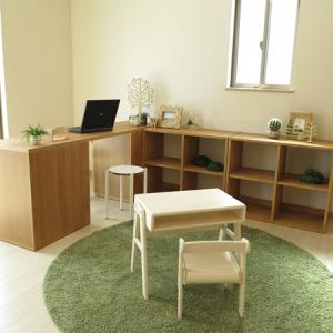 BIGJOYが伝えたいこと【23】家具をL字に組み合わせる家具の配置術!収納家具とデスクをL字に