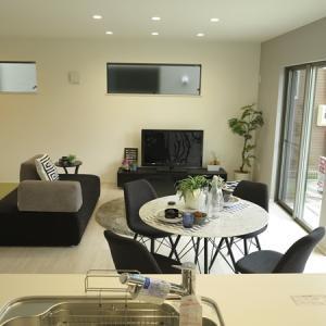 背無しソファがリビングと和室を繋げる!リビングと隣接する畳スペースをソファで繋げる家具の配置術