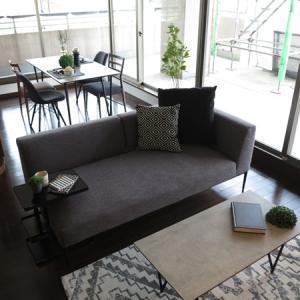 """築十数年の中古マンションに""""家具レンタル""""!期間限定モデルルームを提案させて頂きました"""