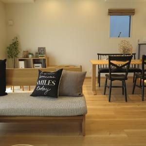 2階がリビングダイニングのメリットは家の間口全体をLD空間として使用できる!マンションの間取り似
