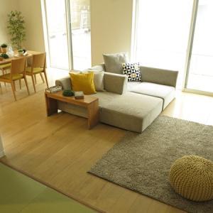 理想的な間取り?!LDK+和室で30帖弱の大空間!島ソファがピッタリな広いリビングの住宅をご紹介