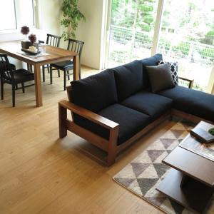 期間限定のモデルハウスに家具をレンタル!シックで大人かっこいい素敵なコーディネートを提案しました