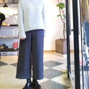 パンツの裾上げ 裾に切替えがある場合はバランスを考えて