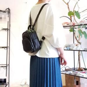コンパクトなミニリュック キュートなワンマイルバッグはいかがですか?