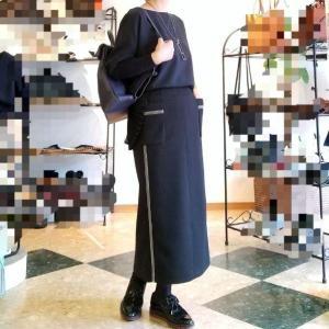 大人のタイトスカートは緩やかにさり気なく カジュアルで綺麗で穿きやすい優れもの