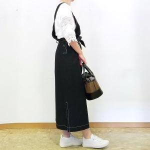 お袖で着る50代からのサロペットスカート 自分なりの今風を着よう