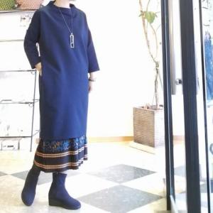 BCBG 秋のスタイル アニマル柄のスカートをバランスで遊んでみる