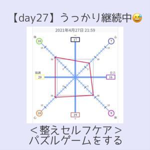 <day26>パズルゲームで明日のうっかりに備える!*嗅覚反応チャレンジ
