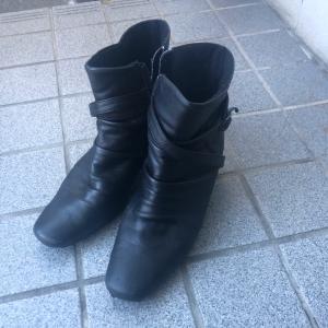 【1日1放】長くはいた靴にありがとう♪