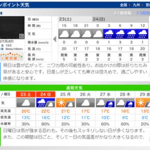 雨予報でもキャンプ!前編