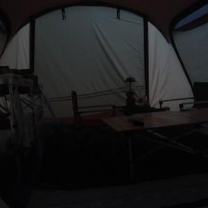 雨予報でもキャンプ!後編