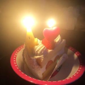 今日はあーちゃんの誕生日、4歳になりました!
