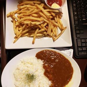 快活クラブのポテトを食べに3人で行ってきました!