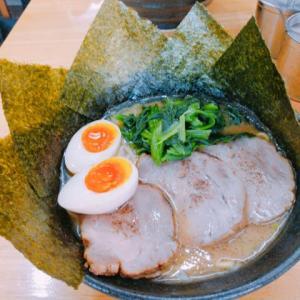 鎌倉「源泉」で横浜家系ラーメン