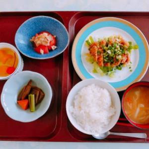 10/8 鶏の唐揚げ葱ソース
