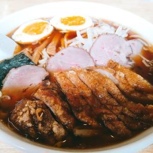 【福○家】で排骨麺