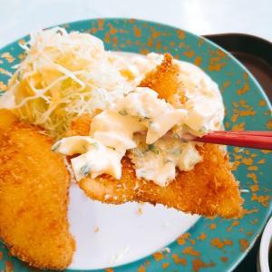 9/30 白身魚のフライタルタルソース
