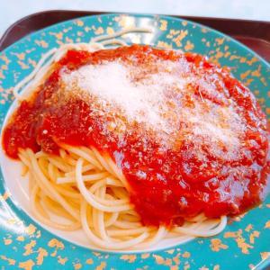 トマトの果肉たっぷりミートソース 2021.9.23