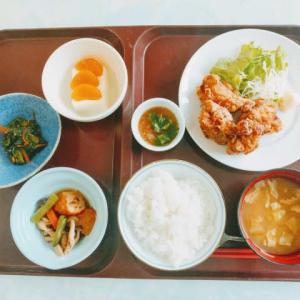 8/17 鶏唐揚げ おろしポン酢