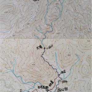 久しぶりの夫婦登山、再び白老川流域へ