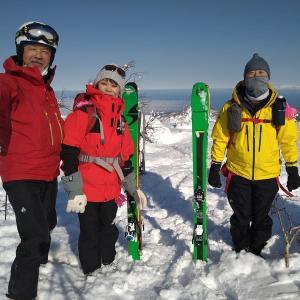 朝里岳(1281m) 4年ぶりの再訪・・・