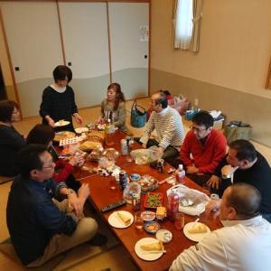 夫婦で同窓会 in 支笏湖温泉