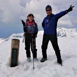 ※旭岳(2291m)~熊ヶ岳(2210m)