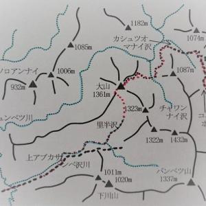 より奥深き日高の静峰・・・日高大山(1361m)