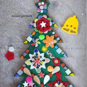 手作りキット☆モザイククリスマスツリー