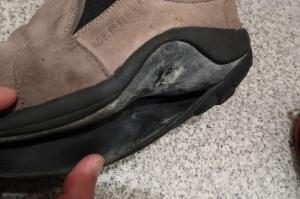 フラットペダル用靴、新調!