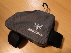 「APIDURA Dry トップチューブバッグ レギュラー」のレビューなような物と間違った使い方。