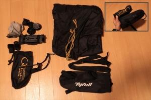 mont-bellU.L.スタッフバッグを輪行袋袋に改造