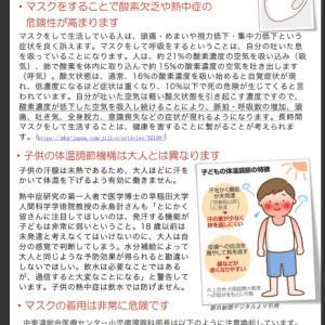 【手作りマスク】外出時の子どものマスクは危険?!手作りならこのカタチ。