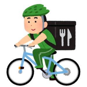 Uber Eatsのバイクにイラッo(`ω´ )o