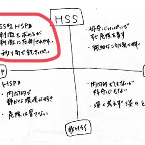 私はHSSでHSP( ͡° ͜ʖ ͡°)