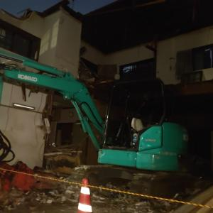 隣の家が解体