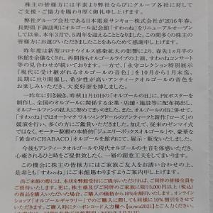 2021年到着106個目 『日本電産』の株主優待