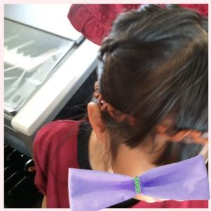 エレクトーンコンクールで着た衣装 チャイナ風ワンピース