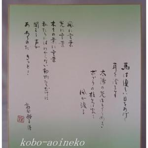 詩心をひきだす-「風に言葉」高田敏子さんの詩