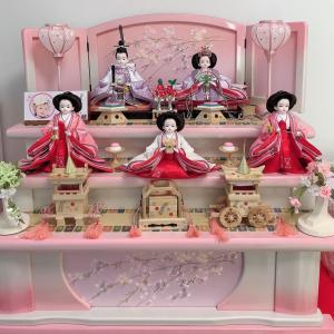 プリンセス雛人形はやっぱり可愛い♡